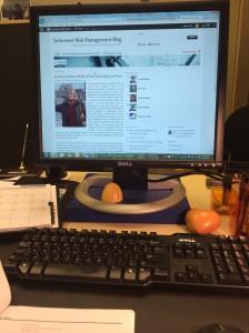 Judy's desk
