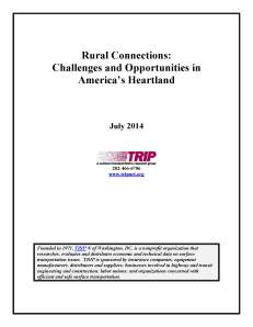 Rural Connections: Challenges and Opportunities in America's Heartland