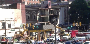 Salvation Army building collapse rescue