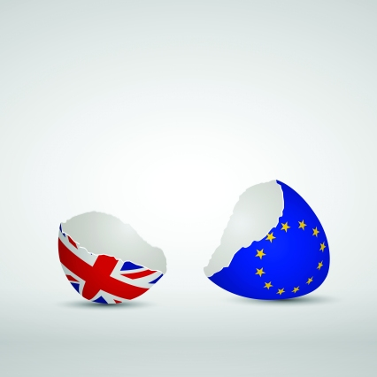 Brexit Cracked eggs