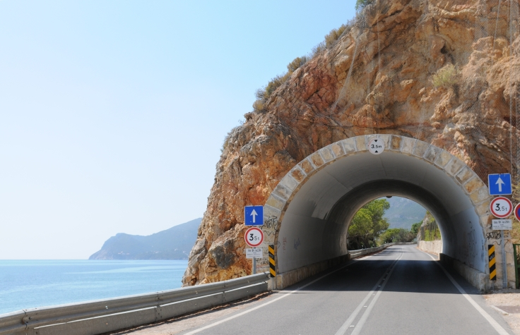 Tunnel vision in PORTUGAL.